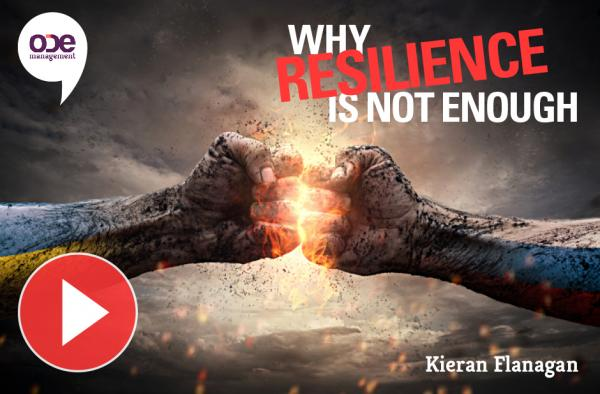 Why Resilience Is Not Enough