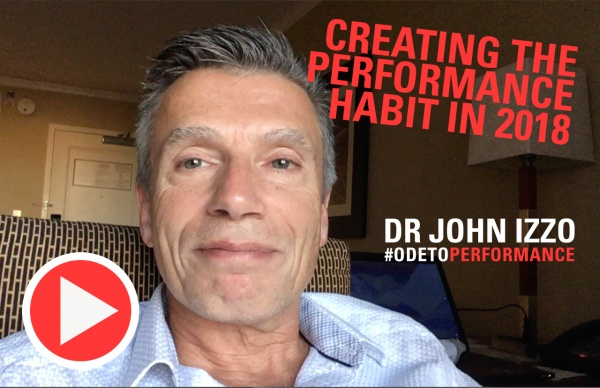 Creating the performance habit in 2018