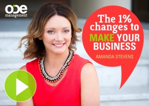 The 1% Changes To MAKE Your Business