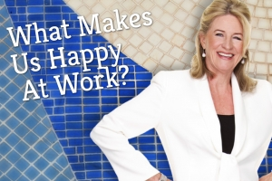 What Makes Us Happy At Work?